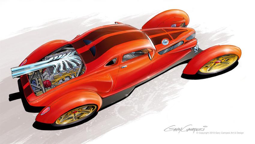 Corvette Cafe Racer