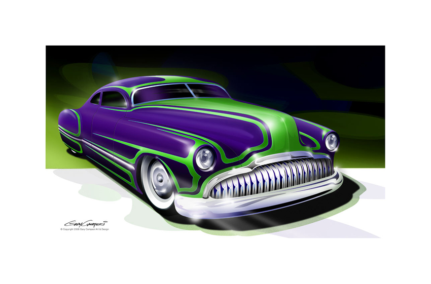 Buick Sled Px on Car Engine Drawings
