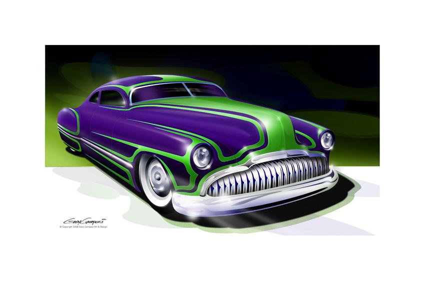 Vector Drawings | Gary Campesi Art & Design