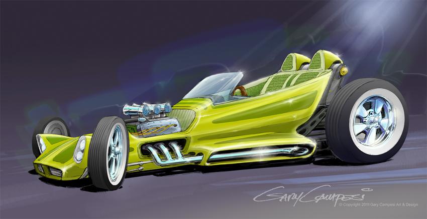 Concept Drawings   Gary Campesi Art & Design