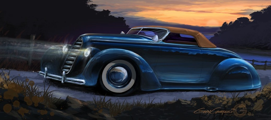 Custom 1936 Ford