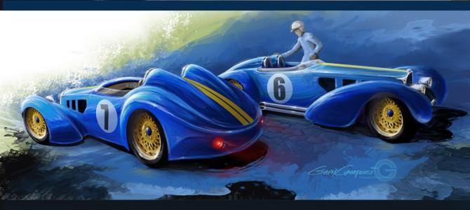 Bugatti Type 57 Racers